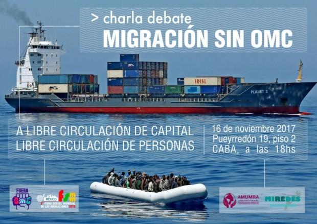 charla migrantes y omc